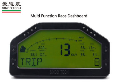 6.5 Inch Digital Oil Temp Gauge Harness Wiring Combination Race Dashboard