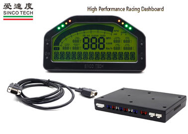 SINCO TECH Oil Temperature Gauge Racing Combination LCD Display DO908