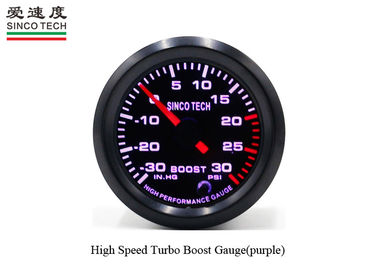 52mm Turbo Boost Gauge / Blue Boost Gauge PSI Unit DO6341 Alumimum Material