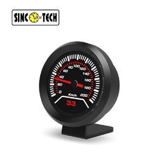 DO912 Touch 15VDC GPS Compass Lap Time Car Racing Dashboard Gauge