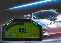 DO908 Waterproof Auto Gauges , Digital Racing Gauges ODO / TRIP / Racing Acceleration Mode