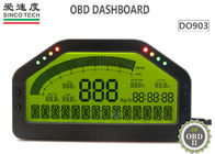 6.5 Inch OBD2 Race Car Dashboard LCD Digital Race Dash Display DO903