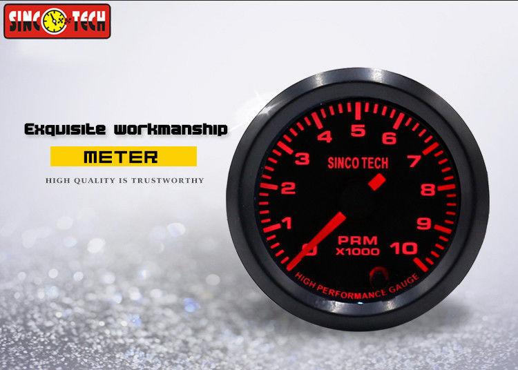 SINCO TECH 2 Inch Tachometer Gauge , Universal RPM Meter 12v