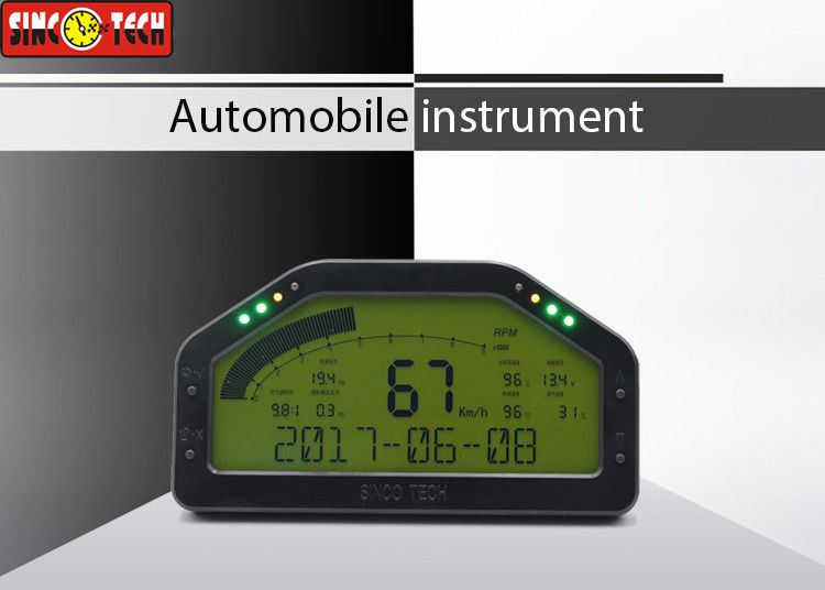 0 - 2400°F Display Exhaust Gas Temperature Gauge Multifunctional Dashboard