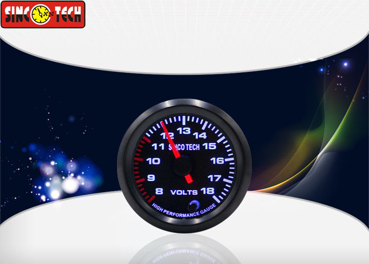 Universal Auto Digital Voltmeter / Circle Gauge New Condition Easy Installation
