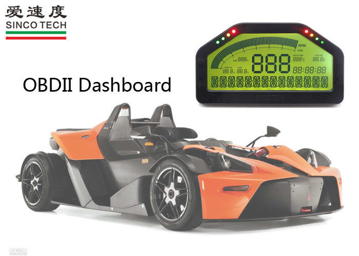 Digital OBD II Gauge Dashboards / Custom Car Dashboard Plug And Play Installation