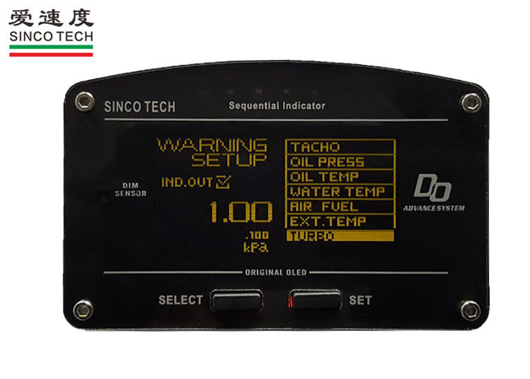 Digital Turbo Boost Gauge / ZD Gauge OLED Display With Boost Sensors