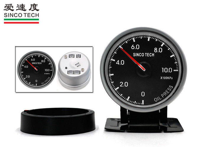 Digital LED 60mm Oil Pressure Gauge / Universal Oil Pressure Gauge KPA Unit Display