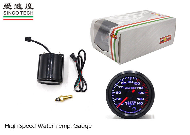 Low Noise Race Car Gauges Water Temperature 12V / 5DC DO 6344 2 Inch Stepper Motor