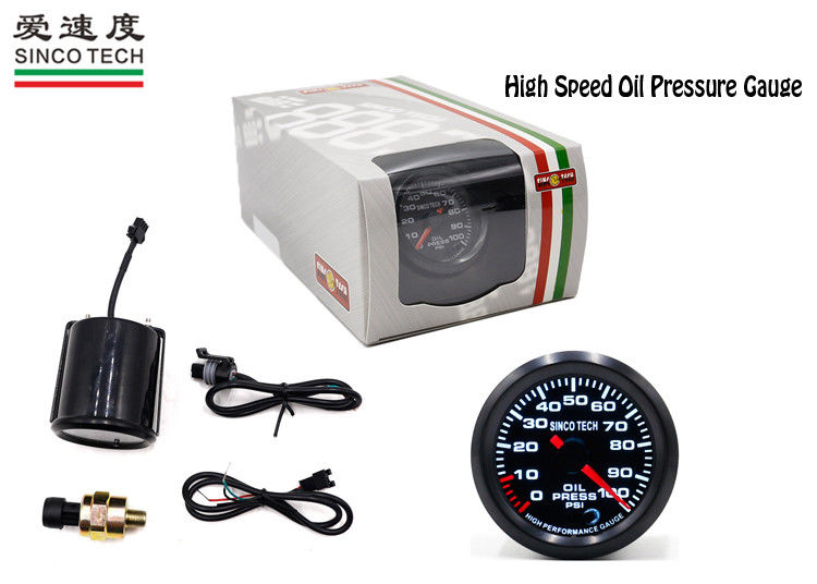 CE Race Car Gauges Do 6346 Oil Pressure 0 - 100 Psi Stepper Single Pointer Type