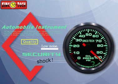 China 12v Digital Oil Pressure Gauge , High Speed Automotive Oil Pressure Gauge factory