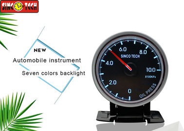 China Autometer Oil Pressure Gauge , Digital Oil Temp Gauge For Universal Rally Cars factory