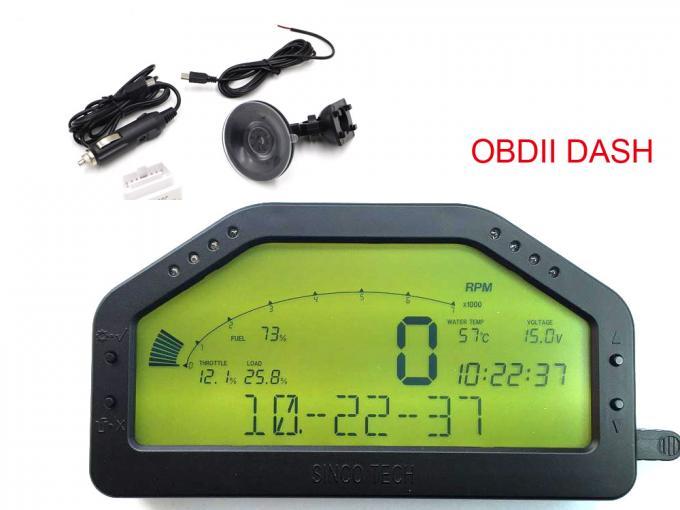 Digital Tachometer Gauge / Autometer Fuel Gauge Combination