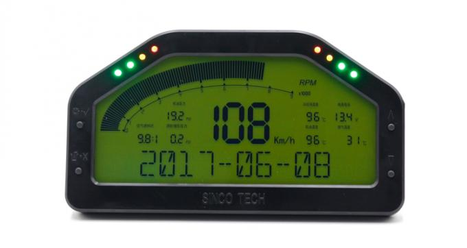 Multifunctional Electronic Boost Gauge , Car Turbo Gauge -1 - 3 Bar Display