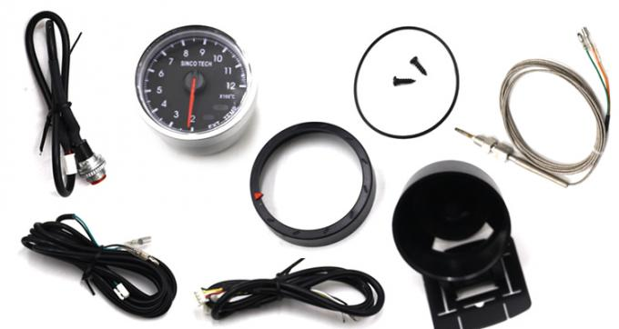 Rally Exhaust Gas Temperature Gauge SINCO TECH Original DO 6359 Stepper Motor Type