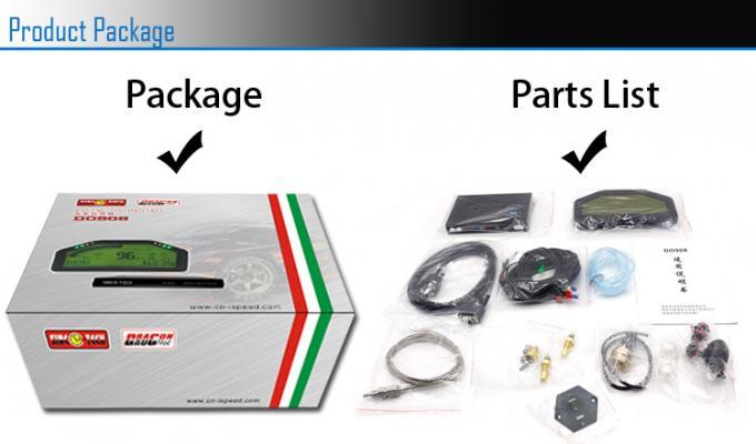 SINCO TECH Race Car Dashboard 6 5 Inch Hardness Wire Full